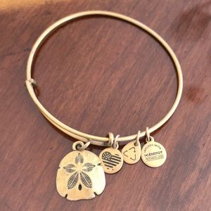 Alex and Ani Sand Dollar Bracelet